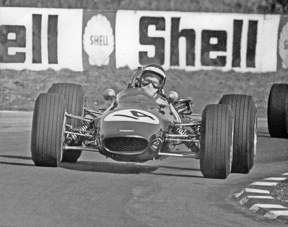 The F3 at Snetterton in 1969