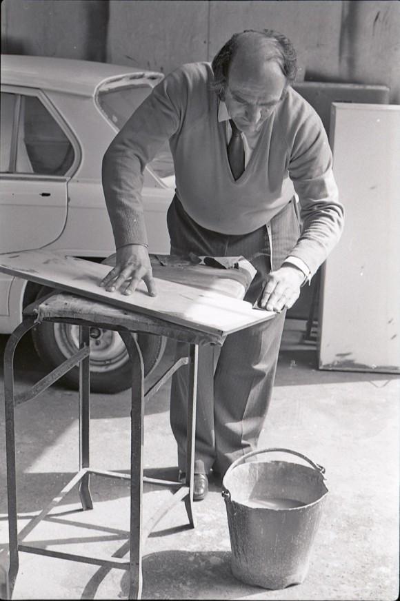 Ken Lucas at work