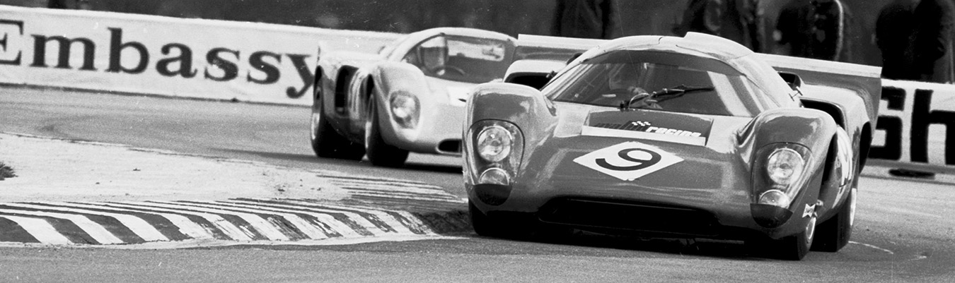 The Lola T70 at Truxton