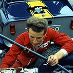 Tim tuning the Chevron B8