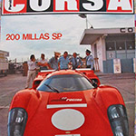 T70 in the cover of Corsa Magazine